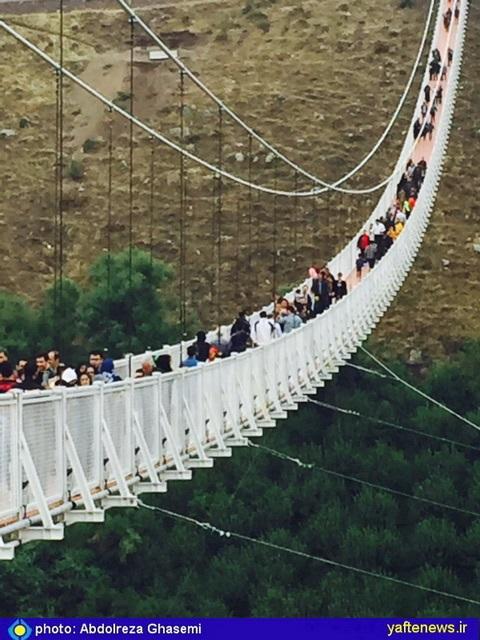 پل معلق مشکینشهر اردبیل