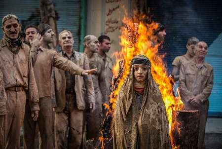 روبان افتخار جشنواره عكس آمریكا برای عكسی از عاشورای خرمآباد