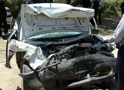 تصادف در محور خرمآباد به سلسله