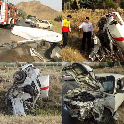 تصادف خونین در محور خرمآباد به کوهدشت